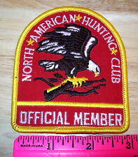 North American Hunting Club Member Embroidered Patch - Official Member