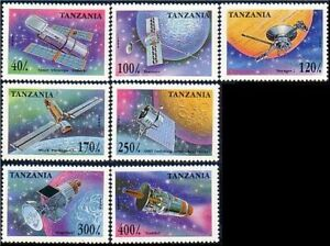 Tanzania Space Satellites MNH ** (25)