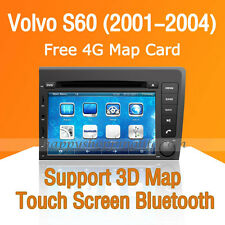 Car DVD Player Auto Radio GSP Navigation Bluetooth USB for Volvo S60 2001-2004