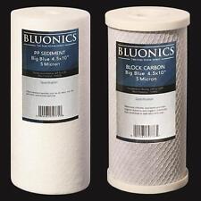 "Big Blue CTO Carbon Block & Sediment 4.5"" x 10"" Replacement Filter Cartridges"