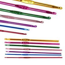 7pcs/set 15cm Multicolor Aluminum Knit Crochet Needles Hooks for Loom Tool A1f