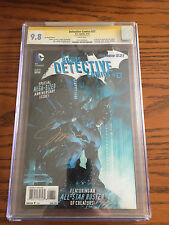 BATMAN: Detective Comics #27 New 52 Lee variant CGC 9.8 Signature Series Jim Lee