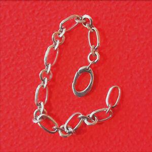 FOSSILArmband Bettelarmbandfür Charm(s)Silber verstellbar bis 21 cm