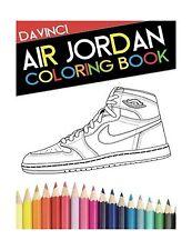 Air Jordan Coloring Book: Sneaker Adult Coloring Book Free Shipping