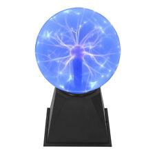 Plasmakugel Plasmaball magisch zuckend Blitz-Show Automatik Musiksteuerung blau