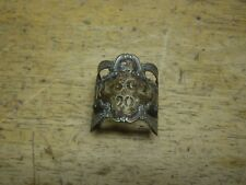 Crescent 1901 No. 54 Antique Turn of Century Bicycle Badge Collectable RARE!