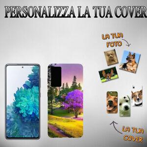 Crea La tua Cover Personalizzata In Gomma Per Telefono Smartphone Samsung S20 FE