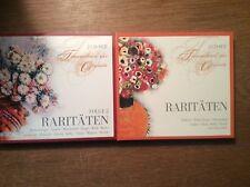Operette Raritäten 1 + 2 [4 CD] Rothenberger Wunderlich Köth Hoppe Schwarzkopf
