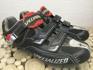 Specialized BG Pro Carbon Road Bike Shoes EU 44 US Men 11 Black 3 Bolt