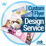 Professional Flyer Design Service - Bespoke Graphic Design