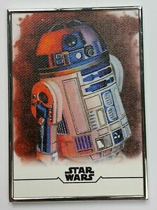 R2-D2 2020 TOPPS STAR WARS STELLAR SIGNATURES REPRODUCTION SKETCH #/100 #4