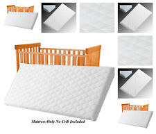 Replacement Mattress for SnuzPod Bedside Crib Quilted Cover Size 80x38 cm