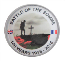 WW1 1st World War Battle of The Somme 100th Anniversary Pin Badge