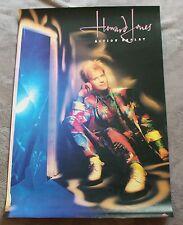 Howard Jones Action Replay 1986 Elektra Asylum Records Rare Promo Poster VGEX C7
