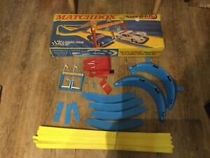 Matchbox Superfast SF5 Double Track Race Set Loop To Loop Boxed