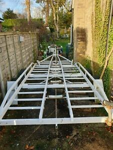 rge BOAT TRAILER 23ft length, save on mooring fees! Working order!