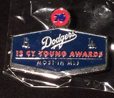 "2015 Los Angeles Dodgers Pin Unocal 76 Pin #2 ""12 Cy Young Awards"""