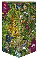 HY29892 - Heye Puzzles - Triangular, 2000 Pc - Deep Jungle