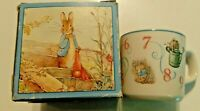 Vintage Wedgwood Peter Rabbit Plate and Cup /NIB/England