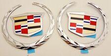 Cadillac ESCALADE 2002 2003 2004 2005 2006 FRONT & REAR EMBLEMS!!