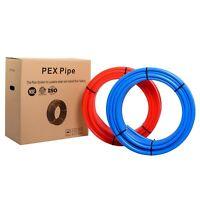 "Pex Pipe/Tube 1/2"" 2 rollsX100ft (200ft) PEX Pipe/Tubing Red &Blue(NSFCertified)"