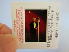 More details for original press photo slide negative - def leppard - joe elliott - 1990's - j