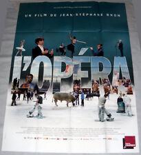L'OPÉRA de Paris Documentaire Tour Eiffel Stephane Lissner Danse GRANDE AFFiCHE