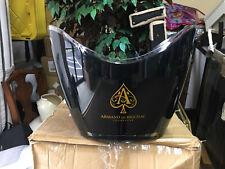 Armand De Brignac Ace Of Spades Gold / Black Ice Bucket. 5 in box