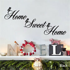Home Sweet Decor Wall Stickers Diy Removable Art Vinyl Wall Stic.p