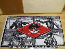 Fahnen Flagge Piraten Kapitene - 90 x 150 cm