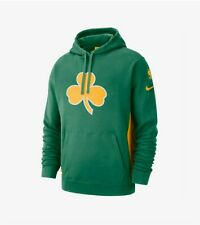 Nike NBA Boston Celtics Earned Edition Courtside Hoodie - Clover (NWT - $90)