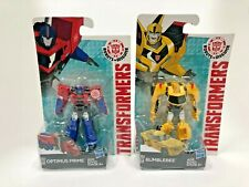 Transformers Robots in Disguise Legion Set of 2 (2.5inch OptimusPrime,Bumblebee)