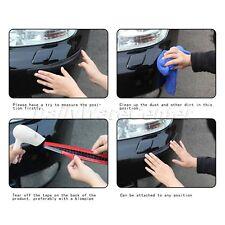 2Pcs/Set Car Anti-collision Rubber Bumper Corner Protector Guard Bar Trim Black