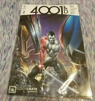 4001 AD Valiant Comic #1 Loot Crate Exclusive Cover New Sealed Matt Kindt