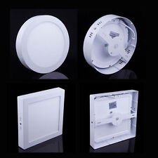 9W 15W 21W LED Surface Mount Panel lighting Wall Ceiling Down Light Round/Square
