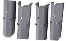 Flambeau Outdoors 455Tkr Tuff Krate Rod Holders - 2-Pack, Gray