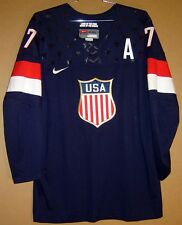 TEAM USA 2014 SULLIVAN SOCHI OLYMPICS HOCKEY JERSEY
