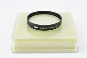 MINT- NIKON CLOSE-UP FILTER #5T 62mm DIAMETER FILTER, 1.5 DIOPTER, BARELY USED