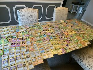 750+ Pokemon Cards Lot, Primarily Base Set, Some Rare, Holos, Movie