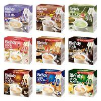 Ajinomoto, Blendy, 21~30 sticks, Instant Coffee, Matcha milk, Tea Au Lait, Japan