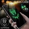 Marvel Luminous Glass Case for iPhone 11 Pro Max Back Cover Venom New Phone Case