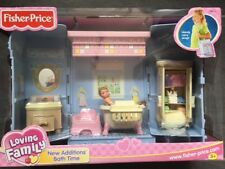 Fisher Price Loving Family New Additions Bath Time Brand New In Box B9019