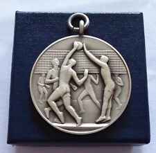Vintage Sport Medal Volleyball John Pinches