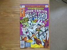 1977 ERB'S JOHN CARTER WARLORD OF MARS # 2 SIGNED 2X DAVE COCKRUM, & RUDY NEBRES
