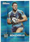 2013 NRL Traders Base Card 56 Mark MINICHIELLO Gold Coast Titans