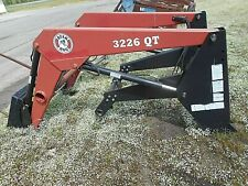 Bush Hog 3226 Front End Loader Tractor Loaderquick Attach Fits 100hp Tractor