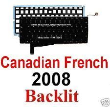 Apple MacBook Pro A1286 2008 Keyboard - CF Canadian French Backlit