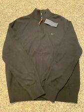 Mens Tommy Hilfiger 1/4 Zip Sweater Size Medium