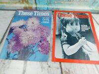 Vintage THESE TIMES Christian Religious Magazine 1966 & 1967 Lot of 2