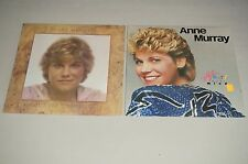 LOT OF 2 1980 Anne Murray A Country Collection LP ST-512039 + HEART OVER MIND EX